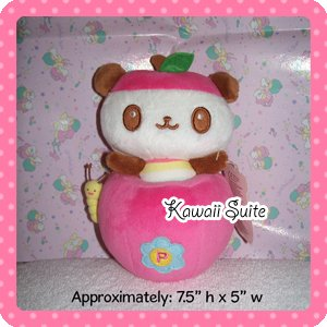 Small Kawaii Pandapple Plush Plushie by Sanrio