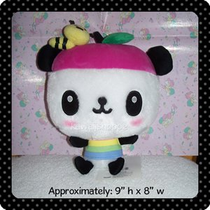 Medium Kawaii Pandapple Plush Plushie by Sanrio
