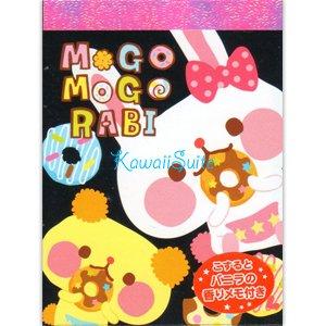 Kamio *Mogo Mogo Rabi* Mini Memo Pad Kawaii Frosting Desserts Sweets Delicious Doughnuts Strawberry