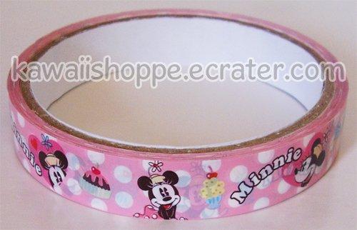 Disney Minnie Mouse Deco Tape #2 Ice Cream Milkshakes