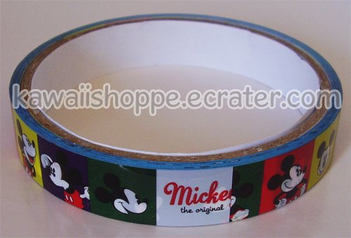 Disney Mickey Mouse Deco Tape #2
