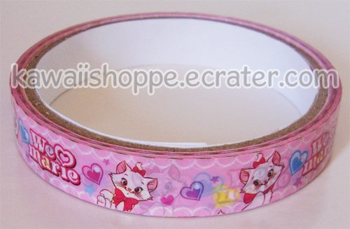 Disney *I Heart Marie Cat* Deco Tape - The Aristocats