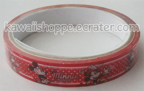 Disney Red Minnie Mouse Deco Tape #5