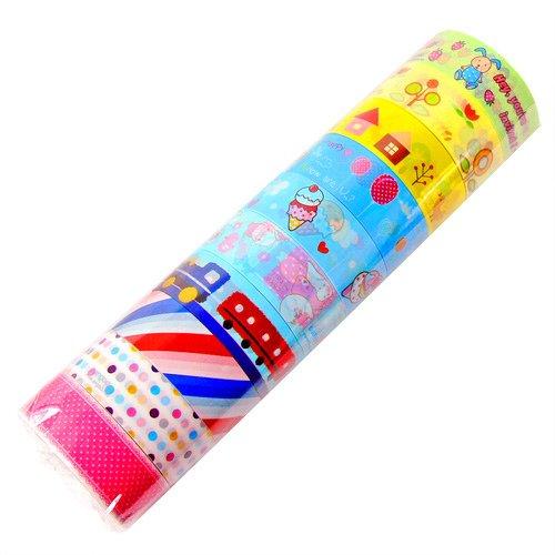 Wholesale Kawaii Deco Tapes 10 Rolls (Lot B)