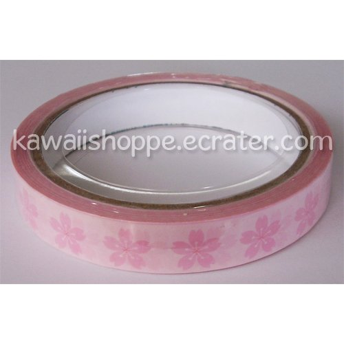 Prime Nakamura *Sakura* Deco Tape - Kawaii Pink Flowers