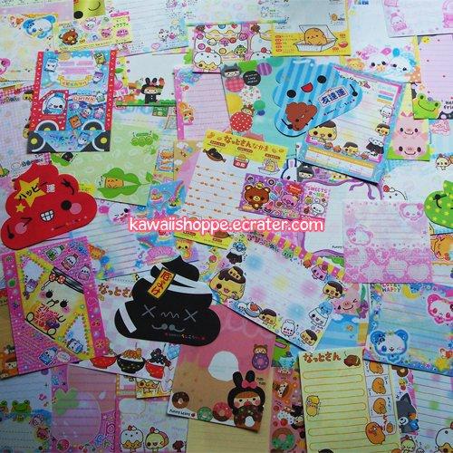 Kawaii 100+ Stationery Memo Grabbie Crux Kamio Q-lia (no repeats) No. 2