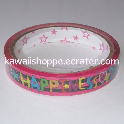 *Happiness Love* Deco Tape - Kawaii Cute Animals