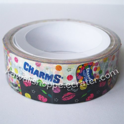 *Charms Lollipop* 2 Rolls of Deco Tape - Kawaii Lollipops Candy Candies Sweets