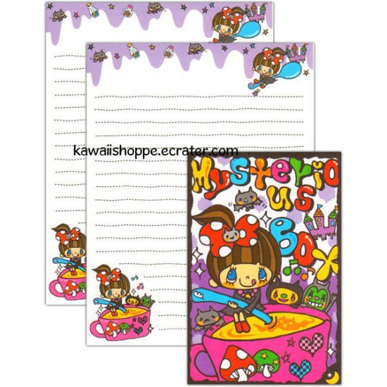 Q-Lia Mysterious Box Letter Set Kawaii