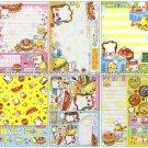 CRUX Sandwich Sandocchi Loose Memo Sheets #060 Kawaii
