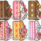 Kamio Japan Cake Die Cuts Loose Memo Sheets #068 Kawaii