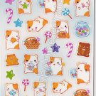 Q-lia Candy Hamu Hamster Desserts Sticker Sheet #SE008 - Kawaii Stickers