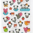 CRUX Sticker Sheet #SE002 - Panda Moon & Stars Kawaii Stickers