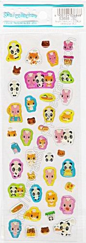 CRUX Sticker Sheet #SE007 - Animal Chefs Kawaii Stickers
