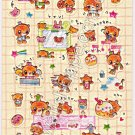 CRUX Sticker Sheet #SE001 - Kawaii Stickers