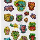 CRUX Bear Friends Sticker Sheet #SE006 - Kawaii Stickers