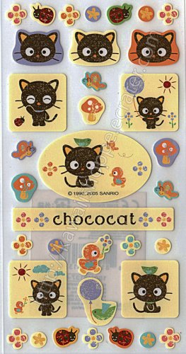 Kawaii Sanrio Chococat Sticker Sheet