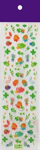 Twin Angel Clovers Sticker Sheet - Kawaii Stickers