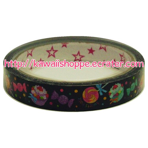 Mind Wave Sweets Holic Deco Tape - Kawaii Cakes Desserts Lollipops