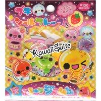 Kamio Japan Fruity Jams & Jelly Sticker Sack Kawaii Stickers Cherry