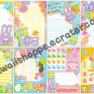 Kamio Japan Balloon Mimi Chan Loose Memo Sheets #064 Kawaii