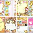 Crux Puru Puru Tamago no Tama-chan Loose Memo Sheets #051 Kawaii Pudding