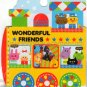 Kamio Japan Wonderful Friends Sticker Flake Sack - Stickers Flakes Sacks Kawaii