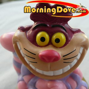 Cheshire Cat from Alice in Wonderland - Disney 100 Years of Magic - McDonalds Toy Promo