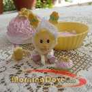 Baby Tea Bunnies and Me Daffodil Dumpling and her Coconut Cupcake and Blanket
