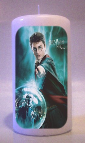 HARRY POTTER Collectable 6 inch Pillar Candles Home Decor