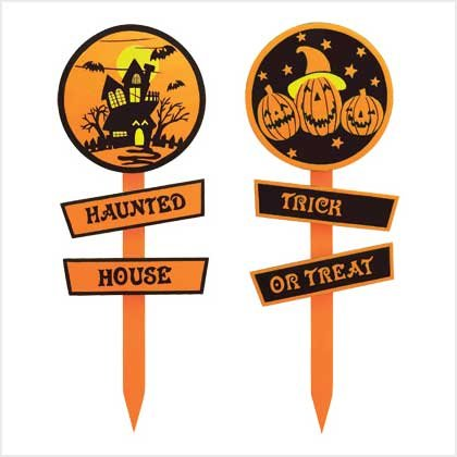 Halloween Garden Stakes