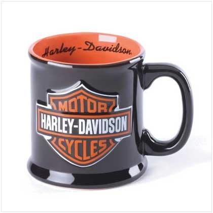 Harley Davidson Bar and Shield Sculpted Mug
