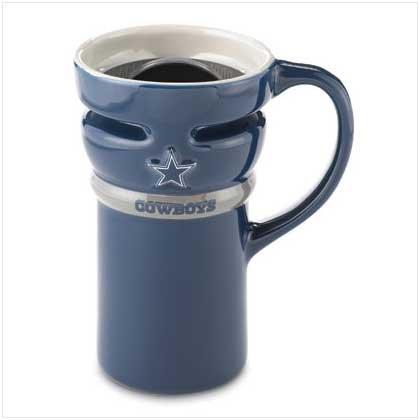 Dallas Cowboys Ceramic Travel Mug