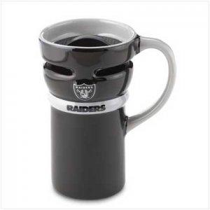 Oakland Raiders Ceramic Travel Mug