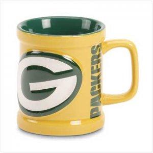 Green Bay Packers Sculped Mug