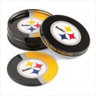 Pittsburgh Steelers Tin Coaster Set