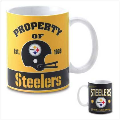 Pittsburgh Steelers Retro Logo Mug
