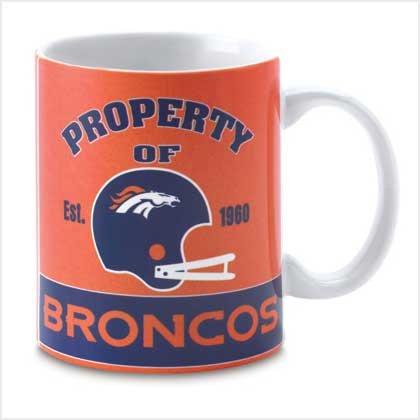 Denver Broncos Retro Logo Mug
