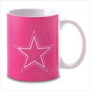 Dallas Cowboys Pink Mug