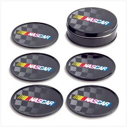 Nascar Tin Coaster Set
