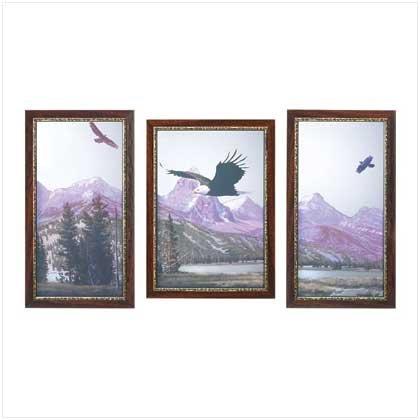 39275 Mountain Eagles Mirror Set