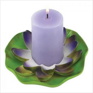 39247 Lotus Flower Candle
