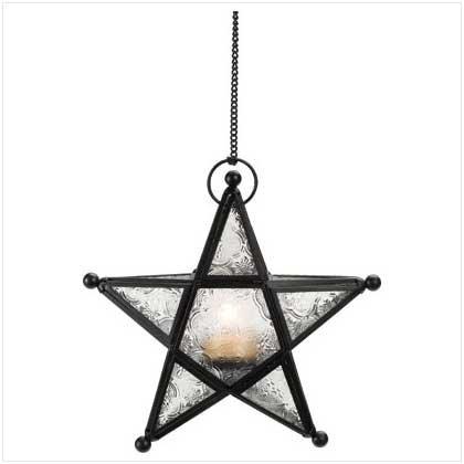 37159 Star Shaped Tealite Lantern