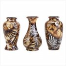 33847 Jungle Bud Vases