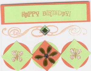 Butterflies Happy Birthday