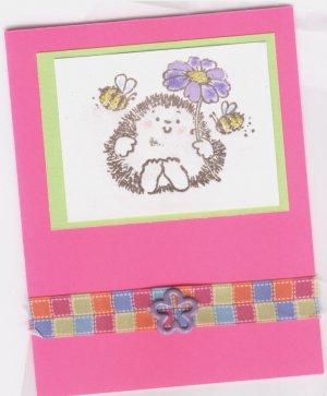 Hedgehog and Bee