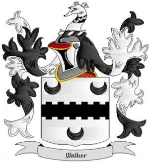 Walker Coat of Arms in Cross Stitch