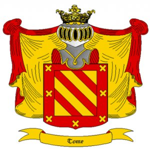 Tome Coat of Arms in Cross Stitch