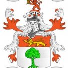 Murphy Coat of Arms in Cross Stitch