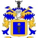 Meyer Coat of Arms in Cross Stitch